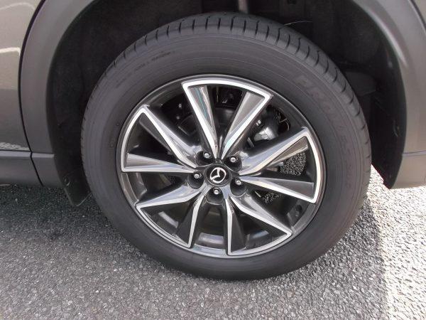 CX-5ディーゼルのタイヤ