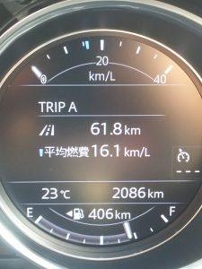 CX-5ディーゼルの実燃費16.4km/L