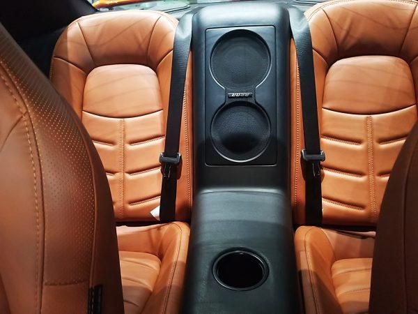 GT-Rの後部座席