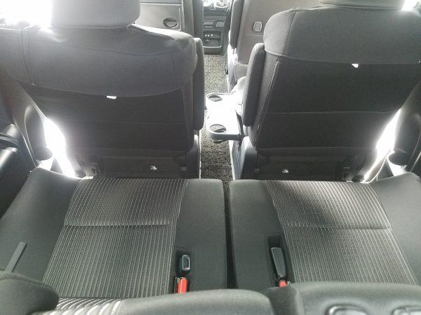 新型ヴォクシーZSの3列目シート