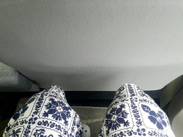 パッソの後部座席に座ってみる