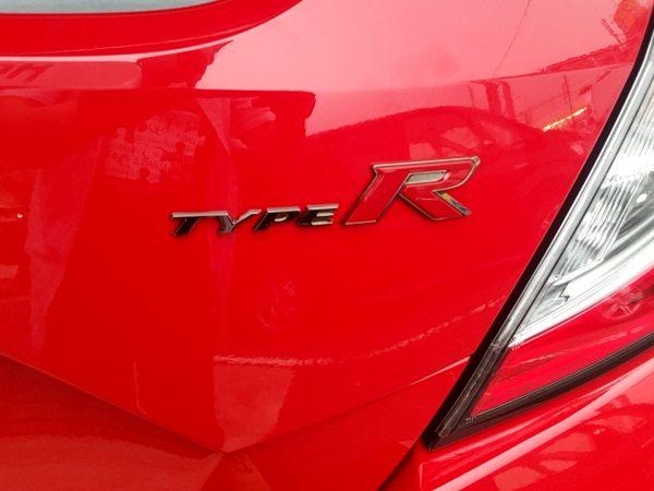 シビックタイプRのロゴ