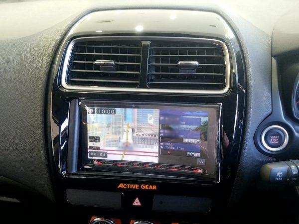 RVR『アクティブギア2WD』のナビまわり