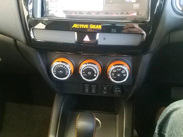 RVR『アクティブギア2WD』のエアコンパネル