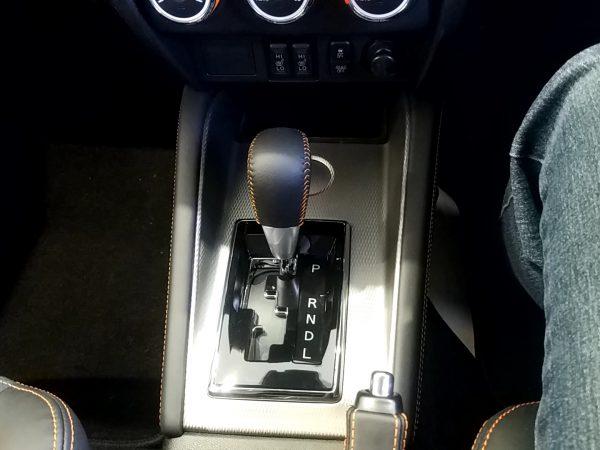 RVR『アクティブギア2WD』のシフトノブ