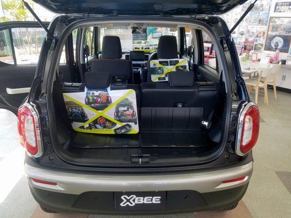 XBEE『ハイブリッドMX』の荷室