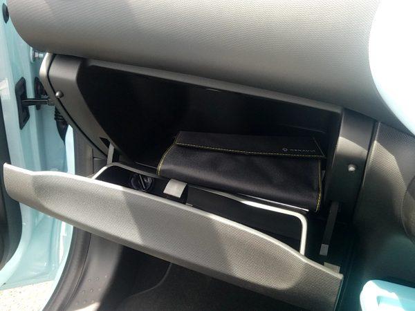 トゥインゴのコンソールボックス