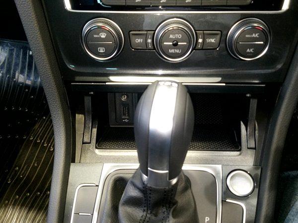VWゴルフのシフトノブ