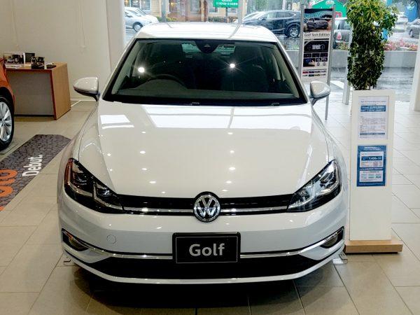 「ゴルフ」TSI Comfortline Tech Editionの正面画像