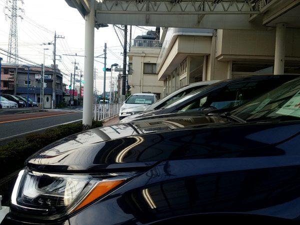 CR-V・EXのボンネット