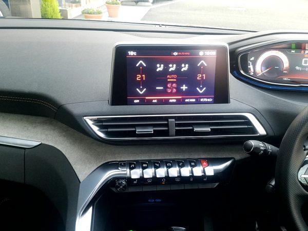 5008「GTブルーHDi」のエアコン送風口