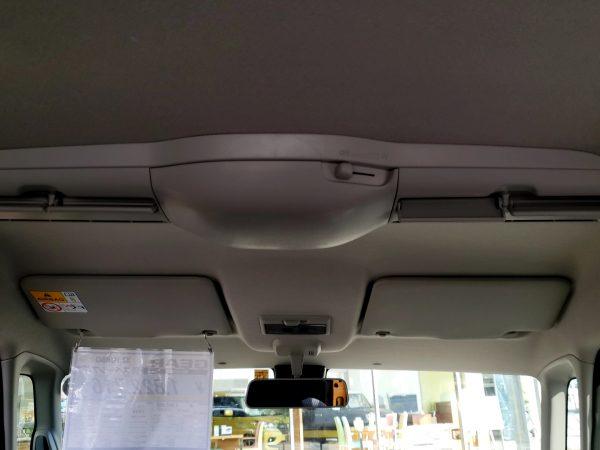 スペーシアギア「XZターボ」後部座席の送風